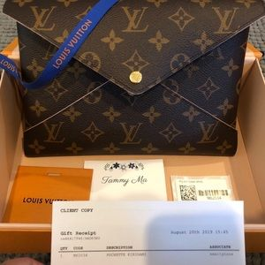Large Louis Vuitton Monogram Kirigami